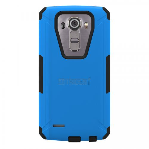 LG G4 Case,Trident [Blue] AEGIS Series Slim & Rugged Hard Cover Over Silicone Skin Dual Layer Hybrid Case w/ Screen Protector