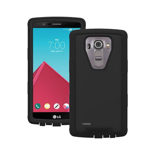 LG G4 Case, Trident [Black] CYCLOPS Series Rugged Dual Layer Hybrid Bumper Case w/ Screen Protector