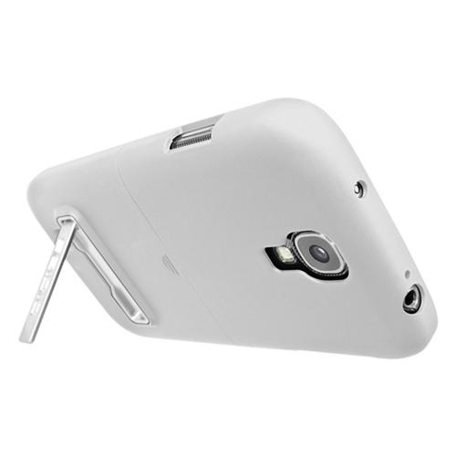 Seidio White Surface Series Hard Cover Case w/ Kickstand for Samsung Galaxy S4 - BD2-CSR3SSGS4K-GL