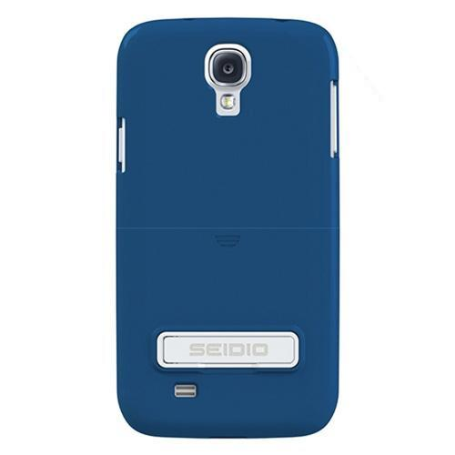 Seidio Royal Blue Surface Rubberized Slide-On Hard Case w/ Kickstand for Samsung Galaxy S4 - CSR3SSGS4K-RB