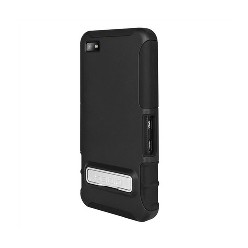 Seidio Black Active Rubberized Hard Cover Over Silicone w/ Kickstand for Blackberry Z10