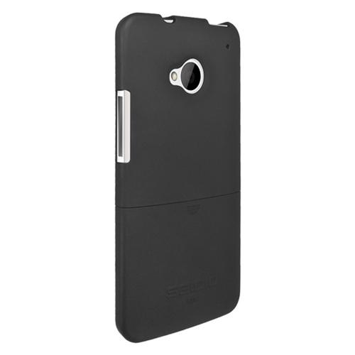 Seidio Black Surface Combo Rubberized Hard Cover Case w/ Holster for HTC One