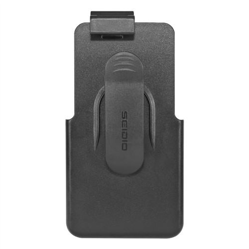 Seidio Black Spring Clip Holster w/ Swivel Belt Clip for HTC One