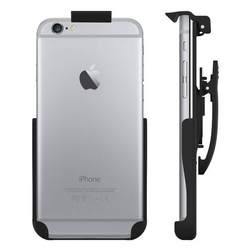 Seidio® Apple iPhone 6 (4.7 inches) Spring Clip Holster with Swivel Belt Clip [HLIPH6AS] - Made for Naked iPhone 6