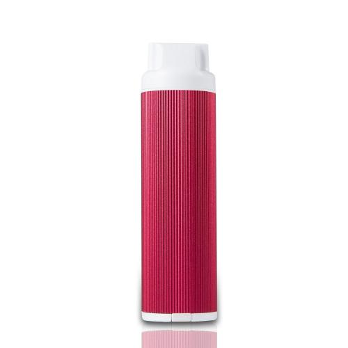 Magic Stick 2800mAh 3 in 1 Ultra-compact External Battery with Micro SD Card Reader & LED Flashlight - Red - XX001