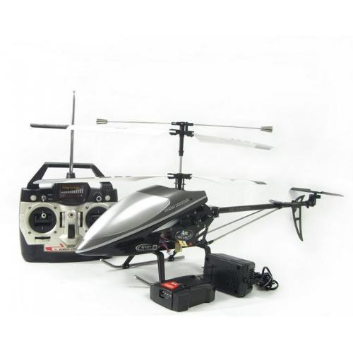 Double Horse 9101 3CH Co-Axial Remote Control RC Helicopter with Built in Gyro [Silver]