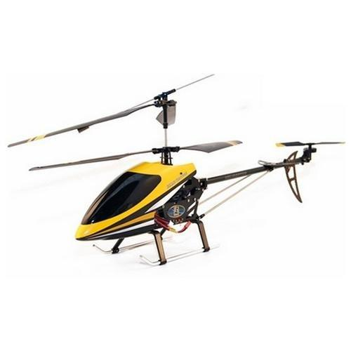 Double Horse 9101 3CH Co-Axial Remote Control RC Helicopter with Built in Gyro [Yellow]