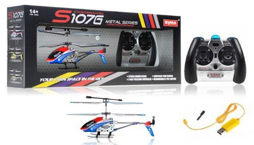 "8.7"" Mini 3CH S107 Metal Helicopter w/Gyro Special Edition"