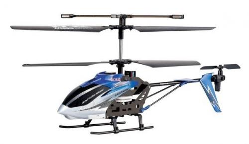 "14.5"" Syma S32 Metal Lightning 3CH 2.4Ghz RC Helicopter Blue"