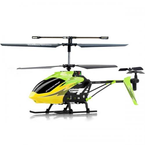 "14.5"" Syma S32 Metal Lightning 3CH 2.4Ghz RC Helicopter Green"