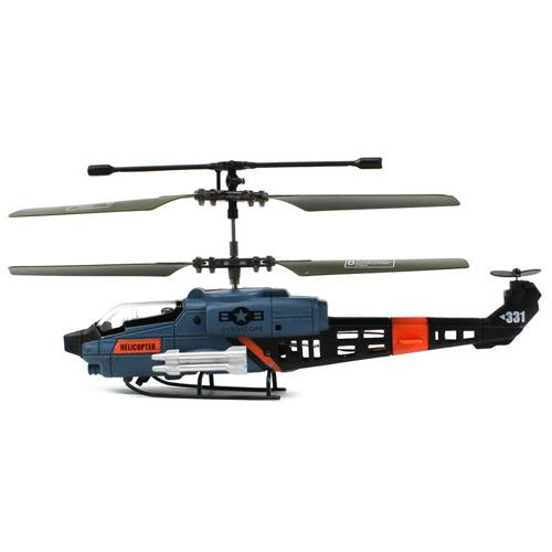"JXD 331 Cobra 3CH Micro RC Helicopter 7"" RTF with Gyro"