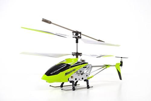 "8.7"" Mini 3CH S107 Metal Helicopter w/Gyro Green"