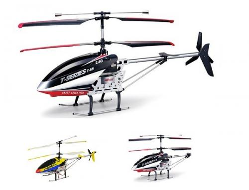 "33"" MJX 3CH T655 Thunderbird RC Helicopter Red"