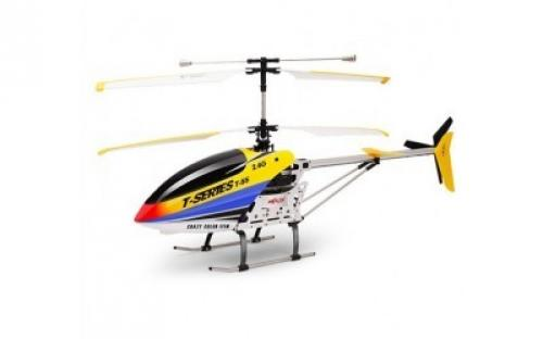 "33"" MJX 3CH T655 Thunderbird RC Helicopter Yellow"