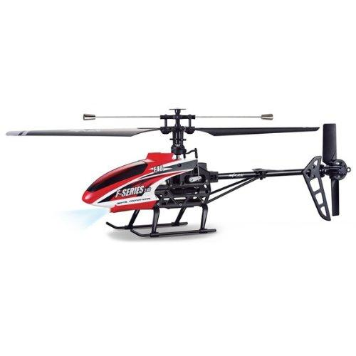 "MJX F-SERIES F46 4CH 2.4GHz Single Blade RC Helicopter 10"" with Servo [Red]"