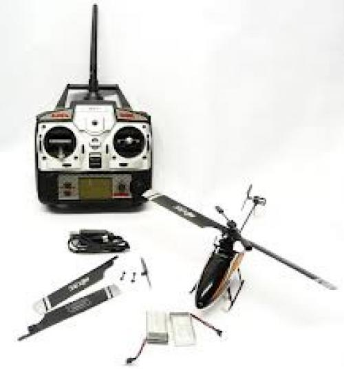 MJX F-SERIES F47 4CH 2.4GHz Single Blade RC Helicopter [Orange]