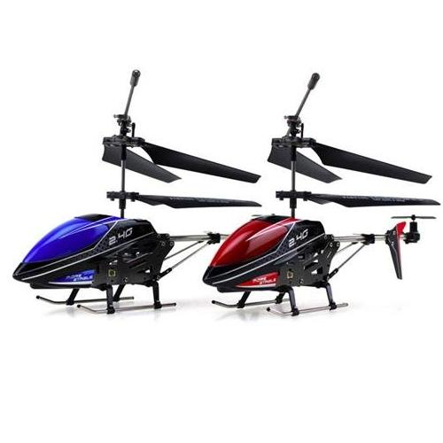 "UDI U820 Mini 3CH 2.4GHz Alloy RC Helicopter 9"" [Red]"
