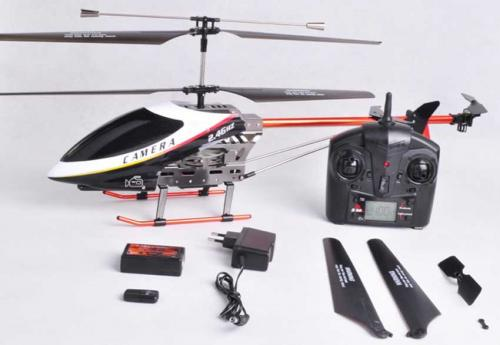 "28"" UDI U12A 2.4GHz 3CH Big Metal RC Helicopter w/Video Camera"