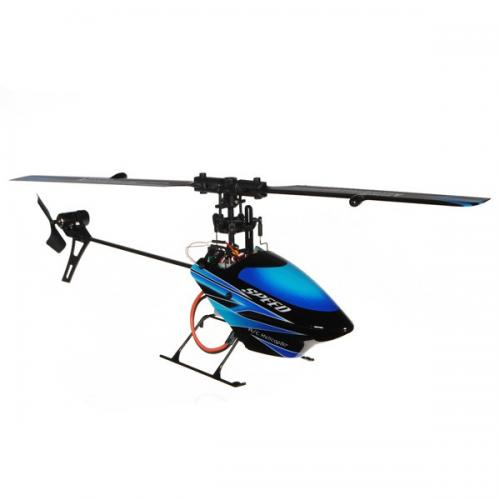 "10"" WL V922 RC CCPM 6 Ch Flybarless RTF Helicopter Blue"