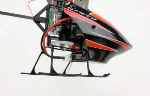 "10"" WL V922 RC CCPM 6 Ch Flybarless RTF Helicopter Red"