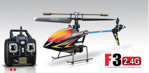 "10"" Syma F3 4CH 2.4G Singer Rotor Helicopter Black"