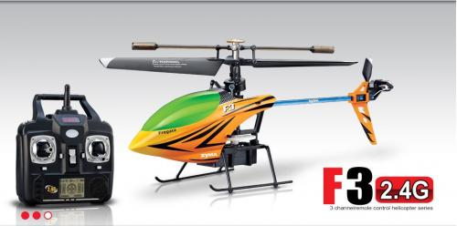 "10"" Syma F3 4CH 2.4G Singer Rotor Helicopter Yellow"