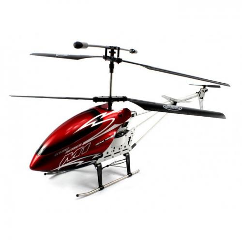 "30"" M1 Skytech Hurricane RC Helicopter 3CH GYRO LED RTF Red"