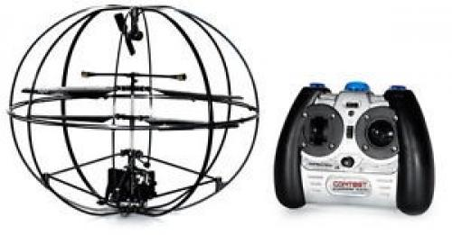"9"" Robotic UFO 3CH I/R Flying Ball RC Helicopter With Gyro"