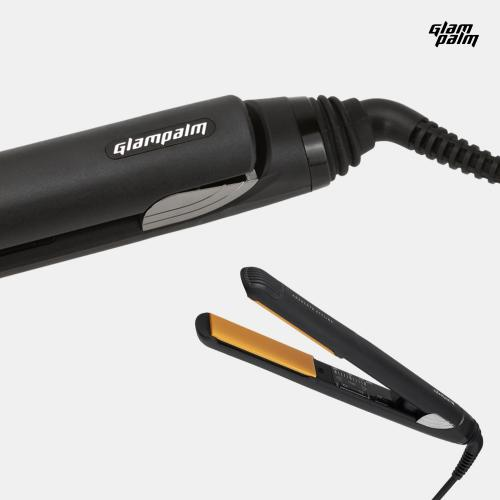 Glampalm Pro Ceramic Hair Straightener, 1-inch Professional Hair Styling Flat Iron