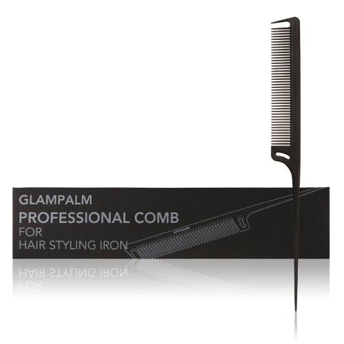 Glampalm Professional Heat Resistant Comb for Hair Styling Iron