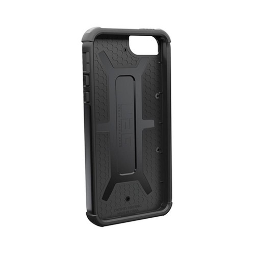 OEM Urban Armor Gear Apple iPhone 5 Hybrid Hard Cover On Silicone Case w/ Screen Protector - Black