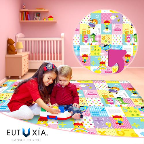 Baby & Kids Safety Play Mat [Easy As 1-2-3/ Fun Alphabet] Great For Baby Crawling, Kids Activity!