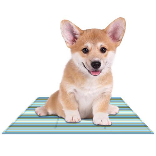 Eutuxia Comfort Cooling Pet Mat, Perfect for Floors, Couches, Car Seats, Pet Beds & Kennels, Non-Toxic Gel So No Chilling Required, Perfect for Dogs/Cats/Hamsters/Birds/Ferrets