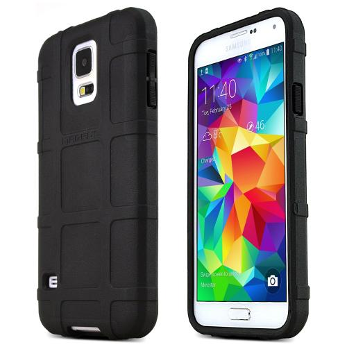 Galaxy S5 [Magpul] Field Case [Black] Best Selling Premium Quality Protective Strong TPU Case - Get ultimate Impact Resistant protection with this Highly Rated case by Magpul! [Perfect Fitting Samsung Galaxy S5 (Magpul) Case]