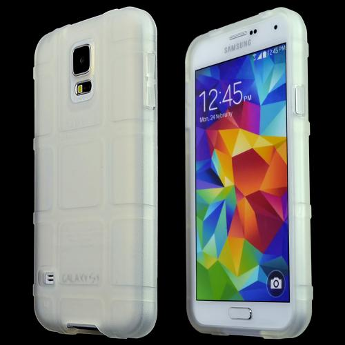 Galaxy S5 [Magpul] Field Case [Clear] Best Selling Premium Quality Protective Strong TPU Case - Get ultimate Impact Resistant protection with this Highly Rated case by Magpul! [Perfect Fitting Samsung Galaxy S5 (Magpul) Case]