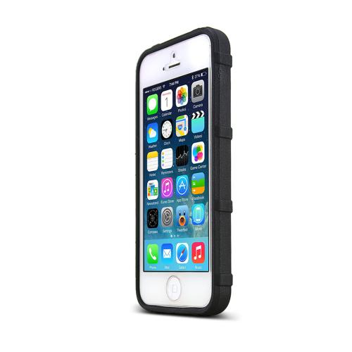 Magpul Black Apple iPhone 5/5S Executive Field Series Strong Crystal Silicone TPU Case - MAG452-BLK - Fantastic Protection!