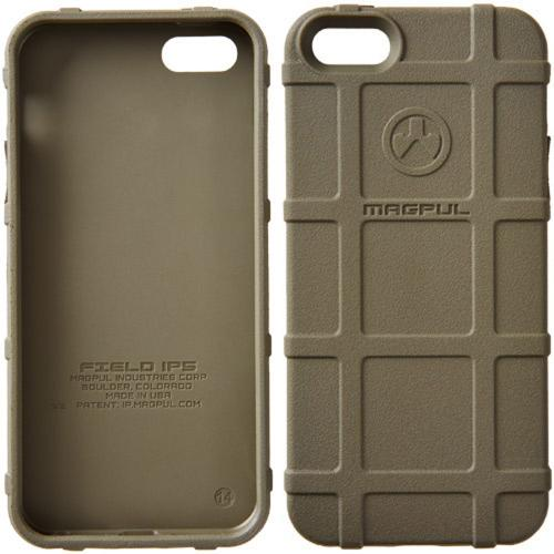 iPhone 5S [Magpul] Executive Field Case [Olive Green] Best Selling Premium Protective Rugged Strong TPU Case - Get Ultimate Impact Resistant Protection with this Highly Rated case by Magpul! [Perfect Fitting Apple iPhone 5S (2013) Case]