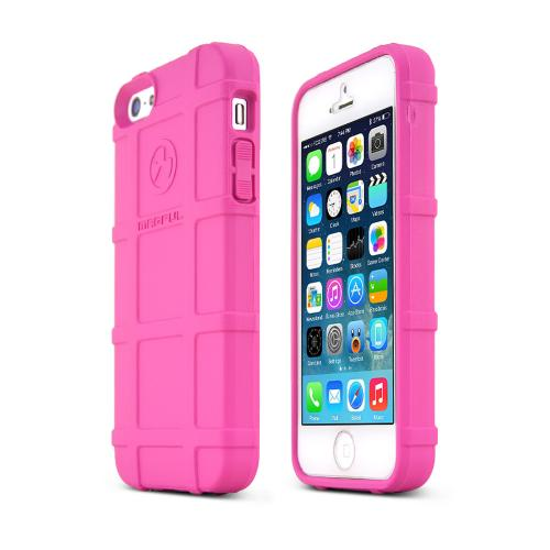 Magpul Pink Apple iPhone 5/5S Executive Field Series Strong Crystal Silicone TPU Case - MAG452-PNK - Fantastic Protection!
