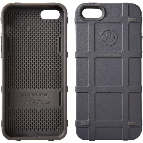 Magpul [Gray Blue ] Apple iPhone 5 / 5S Bump Series Slim Protective Rugged Dual Layer Hybrid Case - MAG454-GRY
