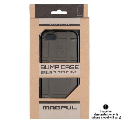 Magpul [Red] Apple iPhone 5 / 5S Bump Series Slim Protective Rugged Dual Layer Hybrid Case - MAG454-RED