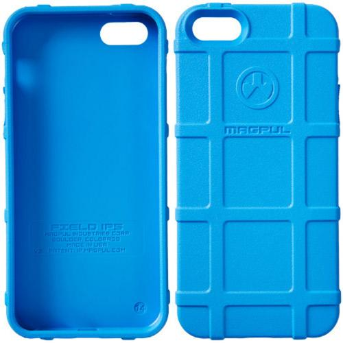 iPhone 5S [Magpul] Executive Field Case [Sky Blue] Best Selling Premium Protective Rugged Strong TPU Case - Get Ultimate Impact Resistant Protection with this Highly Rated case by Magpul! [Perfect Fitting Apple iPhone 5S (2013) Case]