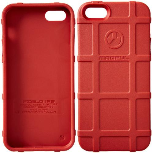iPhone 5S [Magpul] Executive Field Case [Red] Best Selling Premium Protective Rugged Strong TPU Case - Get Ultimate Impact Resistant Protection with this Highly Rated case by Magpul! [Perfect Fitting Apple iPhone 5S (2013) Case]