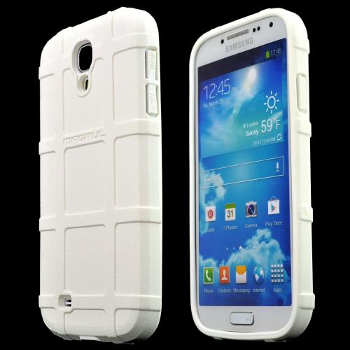 Galaxy S4 [White] [magpul] Field Case - Best Selling Premium Quality Protective Strong Tpu Case - [perfect Fitting Samsung Galaxy S4 (magpul) Case]