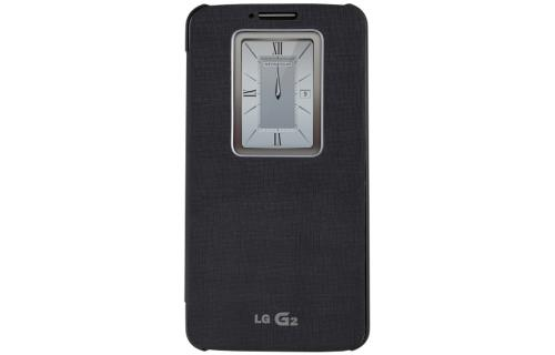 LG Dark Navy QuickWindow Convenient Folio Case for LG G2 (Excluding Verizon)