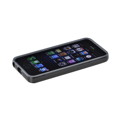 OEM Speck CandyShell Apple iPhone 5/5S Hard Case  SPK-A0476 - Black/ Gray