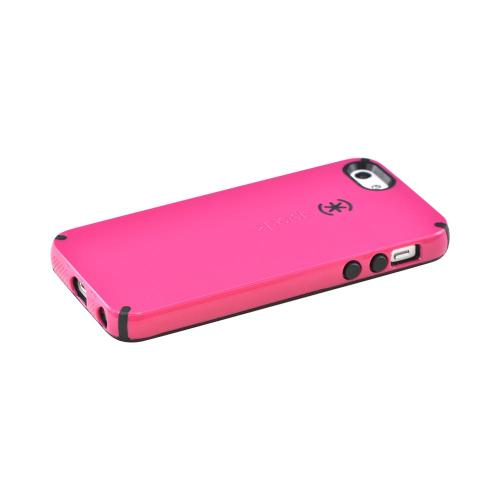 Apple iPhone SE / 5 / 5S  Case, Speck [Pink/ Black] CandyShell Series Hard Case - SPK-A0480