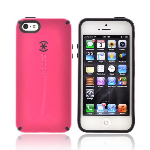 OEM Speck CandyShell Apple iPhone 5/5S Hard Case  SPK-A0480 - Pink/ Black