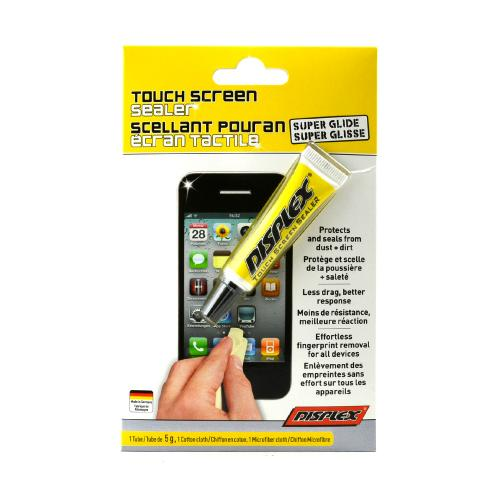 Displex Sealer Super Glide Scratch Remover for Touch Screens w/ Microfiber Cloth
