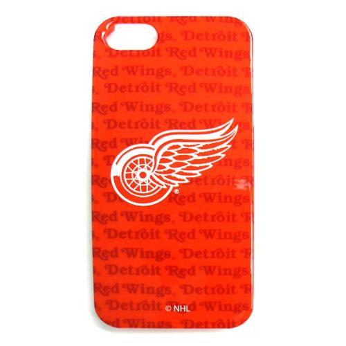 Detroit Redwings Hard Snap-On Case for Apple iPhone 5/5S - NHL Licensed