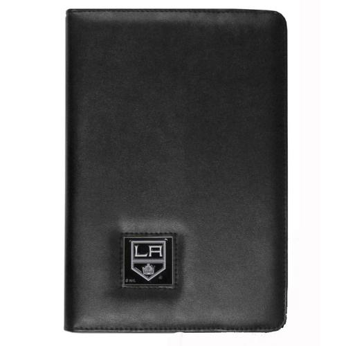 Los Angeles Kings Black Faux Leather Folio Case for Apple iPad Mini 1/2/3 - NHL Licensed